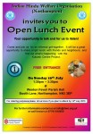 Open Lunch - Sunday 19th july 2015
