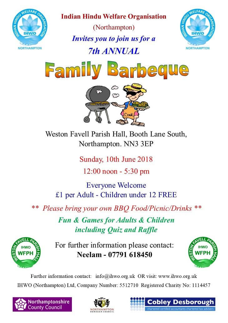 annual family barbeque 10th june 2018 wfph