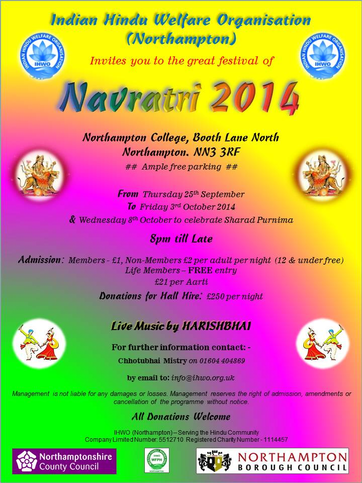 Navratri Celebrations 2014