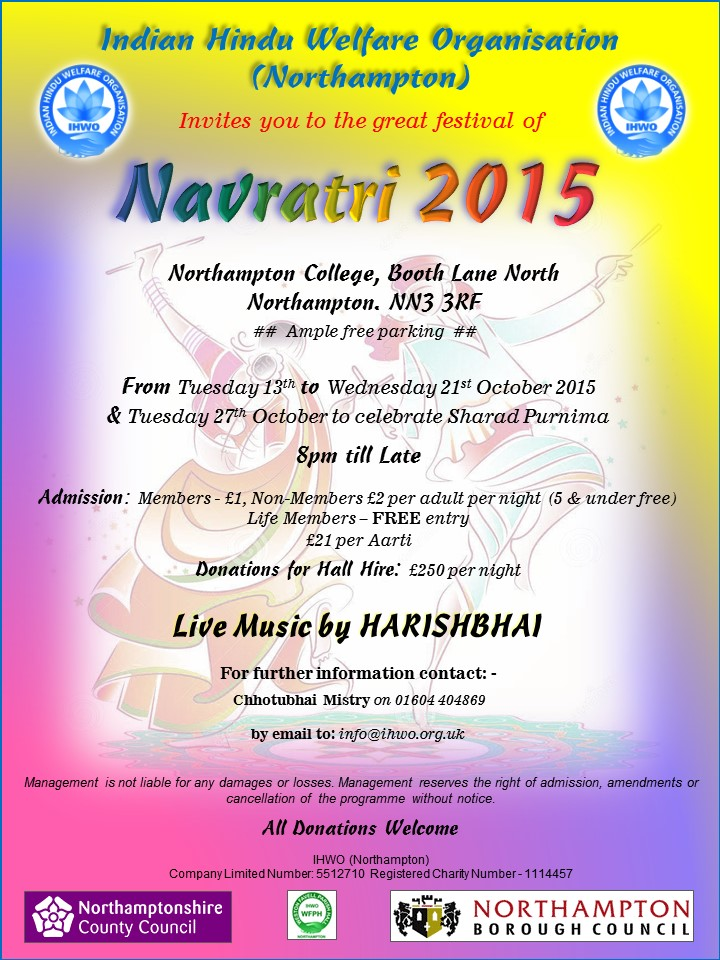 Navratri Celebrations 2015