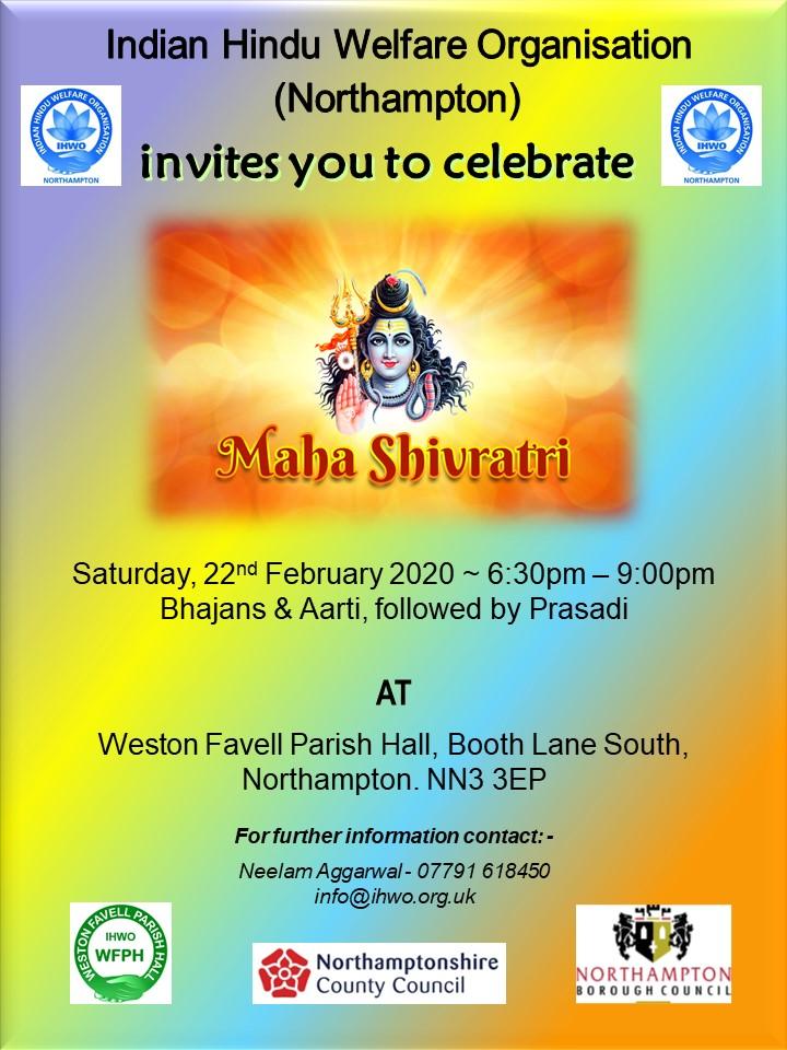 Maha Shivratri 2020 IHWO